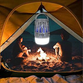 رخيصةأون مصابيح ليد مبتكرة-BRELONG® 1PC الصمام ليلة الخفيفة / التخييم في الهواء الطلق في حالات الطوارئ الخفيفة أبيض / بنفسجي USB ضد الماء / قابلة لإعادة الشحن / حالة طوارئ 5 V