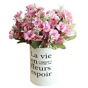 رخيصةأون أزهار اصطناعية-زهور اصطناعية 5 فرع كلاسيكي أوروبي أسلوب بسيط الأوركيد / السحلبية الزهور الخالدة أزهار الطاولة