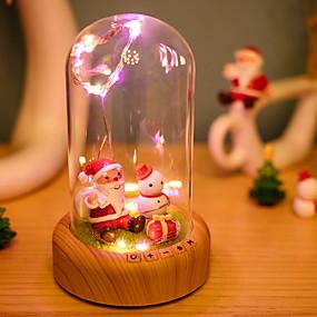 저렴한 LED 아이디어 조명-1 개 산타 클로스 LED 밤 빛 따뜻한 화이트 USB 창조적 <=36 V
