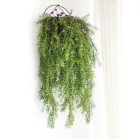 رخيصةأون أزهار اصطناعية-زهور اصطناعية 1 فرع كلاسيكي التقليدية / الكلاسيكية أسلوب بسيط نباتات الزهور الخالدة أزهار الحائط