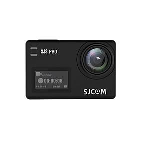 voordelige Auto-elektronica-SJCAM SJCAM SJ8PRO 2160p Mini Auto DVR 170 graden Wijde hoek SONY IMX337 2.33 inch(es) TFT LCD-monitor / Capacitief scherm / IPS Dash Cam met WIFI / Continu-opname / Ingebouwde Microfoon Neen
