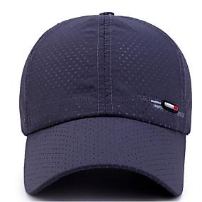 זול $3.99-אפור כהה כחול נייבי אפור בהיר כובע בייסבול אחיד פוליאסטר בסיסי יוניסקס