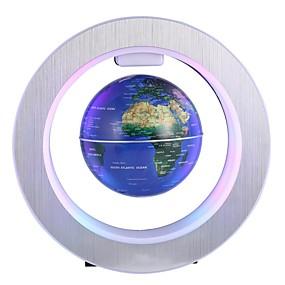 זול נורות לילה לד-1pc כדורי / טלוריון LED לילה אור צבעוני DC מופעל ציפה 12 V