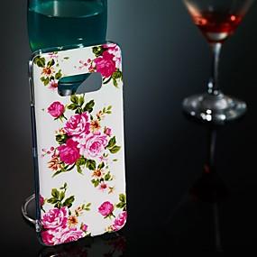 economico Galaxy S7 Edge Custodie / cover-Custodia Per Samsung Galaxy S9 / S9 Plus / S8 Plus Fosforescente / Fantasia / disegno Per retro Fiore decorativo Morbido TPU