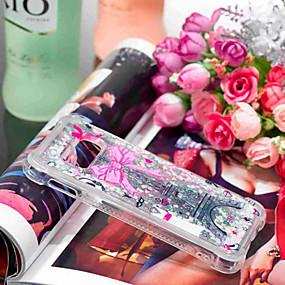 voordelige Galaxy S7 Hoesjes / covers-hoesje Voor Samsung Galaxy S9 / S9 Plus / S8 Plus Schokbestendig / Stromende vloeistof / Transparant Achterkant Uil / Dromenvanger / Glitterglans Zacht TPU