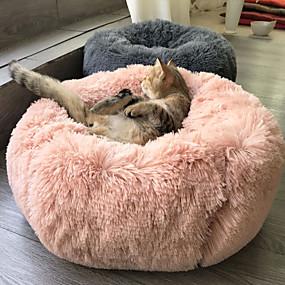 halpa Lemmikkieläinten Tarvikkeita-Koirat Kissat Sängyt Plyysi Lemmikit Vuoraukset Yhtenäinen Lämmin Pehmeä Valkoinen Pinkki Beesi