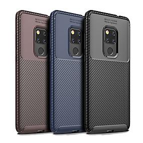 Недорогие Чехлы и кейсы для Huawei Mate-Кейс для Назначение Huawei Huawei Honor 10 / Huawei Honor 9 Lite / Huawei Honor 8X Защита от пыли Кейс на заднюю панель Однотонный / Полосы / волосы Мягкий ТПУ