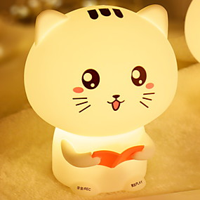 povoljno LED noćna rasvjeta-LED noćno svjetlo / Noćno svjetlo dječjeg vrtića Slatko / Kreativan USB 1pc