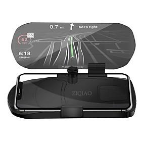 voordelige Auto-elektronica-ziqiao auto hud head-up display snelheid waarschuwing gps-navigatie hud beugel voor slimme mobiele telefoon auto stand vouwen houder
