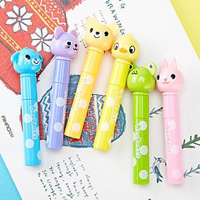 رخيصةأون أٌقلام رصاص و أقلام-قذيفة البلاستيك قوس قزح 6PCS أقلام / قلم لون الماء 23.1*18.5 9.7 cm