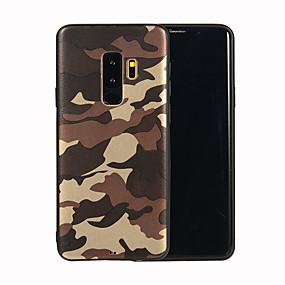 voordelige Galaxy S7 Hoesjes / covers-hoesje Voor Samsung Galaxy S9 / S9 Plus / S8 Plus Mat / Patroon Achterkant Camouflage Kleur Zacht TPU