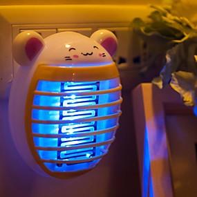 povoljno LED noćna rasvjeta-BRELONG® LED noćno svjetlo Crtani film / Bežično / US Váltakozó áram 1pc