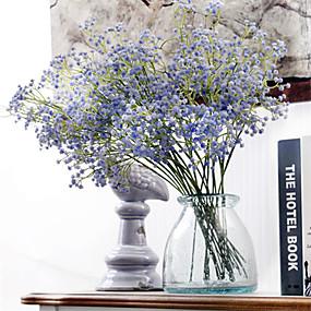 رخيصةأون أزهار اصطناعية-زهور اصطناعية 6 فرع كلاسيكي الزفاف أسلوب بسيط ورادت ناعمة أزهار الطاولة