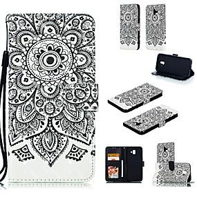 Недорогие Чехлы и кейсы для Galaxy Note 2-Кейс для Назначение SSamsung Galaxy Note 5 / Note 4 / Note 3 Кошелек Чехол Животное Твердый Кожа PU