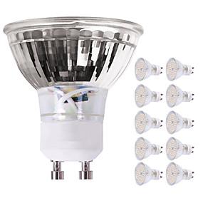 ieftine Spoturi LED-10pcs 5 W Spoturi LED 450 lm GU10 60 LED-uri de margele SMD 2835 Decorativ Încântător Alb Cald Alb Rece 220-240 V
