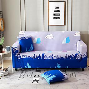povoljno Tekstil za dom-crtani tisak zaštićen od prašine, svemoćni navlake za kauče super kauč od presvlake od tkanine s jednom besplatnom jastučnicom