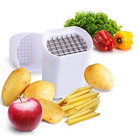 رخيصةأون أدوات & أجهزة المطبخ-رقائق البطاطس مثالية البطاطس الطبيعية الفرنسية فراي كتر الخضار الفاكهة القطاعة بطاطس مقشرة