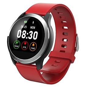 זול נשים שעונים דיגיטליים-בגדי ריקוד נשים שעון דיגיטלי יום יומי אופנתי שחור כחול אדום סיליקוןריצה דיגיטלי שחור פול אודם עמיד במים בלותוט' Smart 30 m 1set דיגיטלי