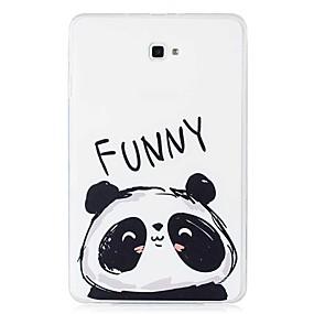 voordelige Galaxy Tab E 9.6 Hoesjes / covers-hoesje Voor Samsung Galaxy Tab E 9.6 / Tab A 10.1 (2016) Patroon Achterkant Panda Zacht TPU