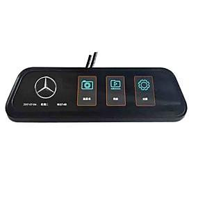 voordelige Auto DVR's-volledig scherm achteruitkijkspiegel streaming media auto dvr 170 graden groothoek 10 inch ips dash cam met nachtzicht / g-sensor / parkeerbewaking autorecorder
