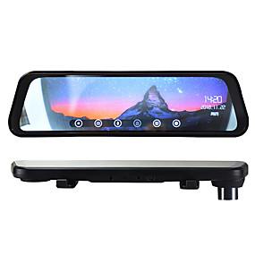 Недорогие Видеорегистраторы для авто-btutz LCD 1080p Двойной объектив / Загрузочная автоматическая запись Автомобильный видеорегистратор 170° Широкий угол 1/4 дюйма CMOS OV7950 9.7 дюймовый LCD Капюшон с Ночное видение / G-Sensor