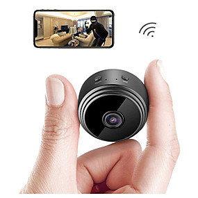 olcso Kiárusítás-a9 korszerűsített verzió wifi 1080p teljes HD éjjellátó vezeték nélküli ip kamera kültéri mini kamera videokamera videofelvevő otthoni biztonsági megfigyelés mikro kis kamera távoli monitor telefon os