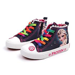 povoljno KIDS SALE-Djevojčice Udobne cipele Platno Sneakers Dijete (9m-4ys) / Mala djeca (4-7s) / Velika djeca (7 godina +) Dark Blue / Svjetloplav Proljeće