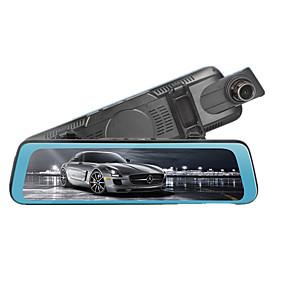 voordelige Auto-elektronica-CY-888 1080p Auto DVR 170 graden Wijde hoek Spiegel Dash Cam met Loop-cycle opname Autorecorder