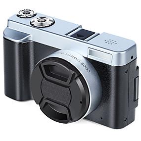 olcso Sportkamerák és GoPro tartozékok-QQT V12 videonapló időzítés funkció / Több funkciós / Könnyű és kényelmes 64 GB 1080P / 60fps 16 mp 8X 1920 x 1080 Pixel 3.2 hüvelyk 16.0MP CMOS MPEG-4 Állókép / Sorozat / Time-lapse Nem -4/3