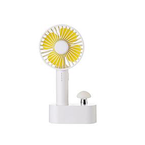 povoljno LED noćna rasvjeta-Brelong® 1pc levou luz da noite com ventilador portátil quente usb branco recarregável / 3 modos / fácil de transportar 5 v