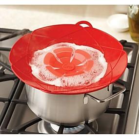 Χαμηλού Κόστους Κουζίνα και τραπεζαρία-Νέο σιλικόνης κάλυμμα απορριμμάτων καλύμματος πώμα για αξεσουάρ κουζίνας αξεσουάρ μαγειρικής εργαλεία λουλουδιών μαγειρικά σκεύη κουζίνας gadgets