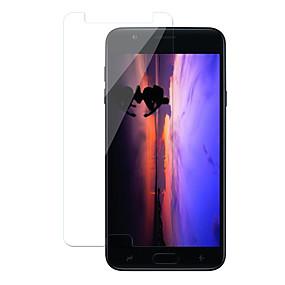 Недорогие Защитные пленки для Samsung-Samsung GalaxyScreen ProtectorJ7 Duo Защита от царапин Защитная пленка для экрана 1 ед. Закаленное стекло