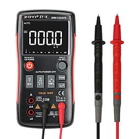 رخيصةأون أجهزة القياس الرقمية & أجهزة قياس الذبذبات-zoyi zt-x صحيح-- rms رقمي متعدد زر 9999 التهم الجهد الحالي أوم السيارات المتر مع الإنجليزية الروسية دليل