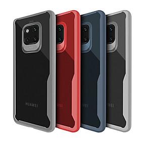 Недорогие Чехлы и кейсы для Huawei Mate-Кейс для Назначение Huawei Huawei Honor 8X / Honor 7A / Huawei Honor 9i Ультратонкий / Прозрачный Кейс на заднюю панель Однотонный Мягкий ТПУ