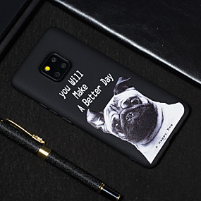 Недорогие Чехлы и кейсы для Huawei серии Y-Кейс для Назначение Huawei Huawei Nova 3i / Huawei Nova 4 / Huawei Honor 9 Lite Матовое / С узором Кейс на заднюю панель С собакой / Слова / выражения Мягкий ТПУ