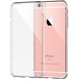 voordelige iPhone 11 Pro Max hoesjes-hoesje Voor Apple iPhone 8 Plus / iPhone 8 / iPhone 7 Plus Schokbestendig / Transparant Achterkant Effen Zacht TPU
