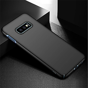 voordelige Galaxy S7 Edge Hoesjes / covers-hoesje Voor Samsung Galaxy S9 / S9 Plus / S8 Plus Schokbestendig Achterkant Effen Hard PC