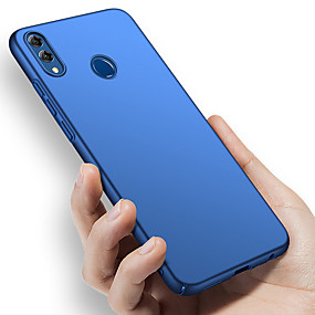 Недорогие Чехлы и кейсы для Huawei Honor-Кейс для Назначение Huawei Huawei Note 10 / Huawei Honor 10 / Honor V20 Защита от удара / Ультратонкий / Матовое Чехол Однотонный Твердый ПК
