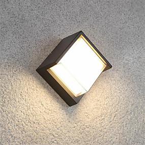 ieftine Abajure Perete-ONDENN Rezistent la apă / Model nou LED / Modern contemporan Becuri de perete Interior / Exterior Aluminiu Lumina de perete IP65 85-265V 10 W