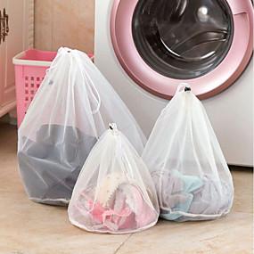 رخيصةأون أدوات الحمام-أكياس شبكة الملابس انغلق خطوط غرامة الرباط كيس الغسيل البرازيلي الملابس الداخلية أكياس الغسيل واقية للغسالات