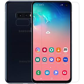 olcso Galaxy S Képernyővédő fóliák-Samsung GalaxyScreen ProtectorGalaxy S10 E High Definition (HD) Elülső és fényképezőgép objektívvédő 1 db Edzett üveg