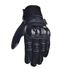 billige Motorsykkelhansker-Madbike Full Finger Unisex Motorsykkel hansker Karbonfiber / Microfiber Slitasje-sikker / Støtsikker / Solkrem