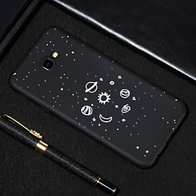 voordelige Galaxy J5(2017) Hoesjes / covers-hoesje Voor Samsung Galaxy J7 Prime / J7 (2017) / J5 Prime Mat / Patroon Achterkant Hemel Zacht TPU