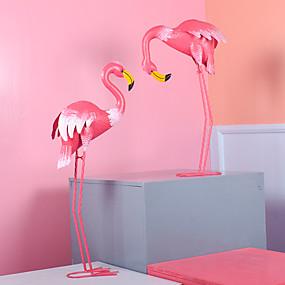 olcso Fa dekorációk-Dekoratív tárgyak, Vas minimalista stílusú mert Lakásdekoráció Ajándékok 2pcs