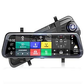 Недорогие Видеорегистраторы для авто-Factory OEM 1080p Ночное видение / Cool Автомобильный видеорегистратор 140° Широкий угол 10.1 дюймовый Капюшон с WIFI / GPS / Ночное видение Нет Автомобильный рекордер / G-Sensor / Режим парковки