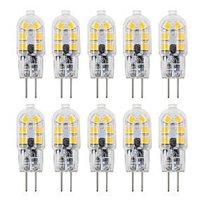 povoljno LED svjetla s dvije iglice-10pcs 3 W LED svjetla s dvije iglice 200-300 lm G4 T 12 LED zrnca SMD 2835 Lijep 12 V