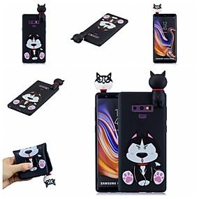 Недорогие Чехлы и кейсы для Galaxy Note 8-Кейс для Назначение SSamsung Galaxy Note 9 / Note 8 С узором Кейс на заднюю панель С собакой / Мультипликация Мягкий ТПУ