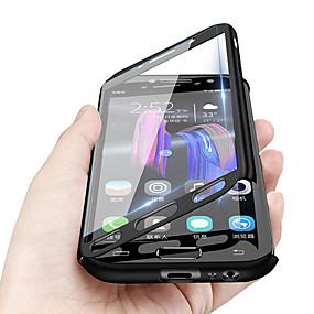 Недорогие Чехлы и кейсы для Huawei Honor-Кейс для Назначение Huawei Huawei Note 10 / Huawei Honor 10 / Honor 9 Защита от удара / Ультратонкий / Матовое Чехол Однотонный Твердый ПК