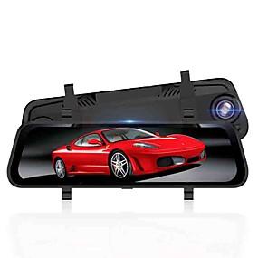 ieftine Electronice Mașină-1080p / 1296P HD / Vedere nocturnă Car DVR 170 Grade Unghi larg 10 inch Dash Cam cu Vedere nocturnă / G-Sensor / Mod de Parcare Nu Car recorder / Înregistrarea în Buclă / ADAS / WDR / HDR