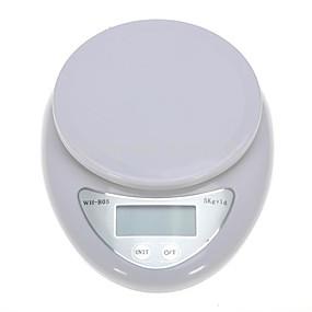 povoljno Digitalne vage-5kg/1g LCD zaslon Elektronska kuhinjska skala Kuhinja dnevno